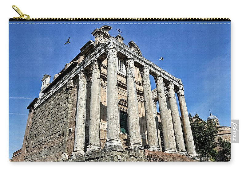 Carry-all Pouch featuring the photograph Ancient Rome by Bill Howard