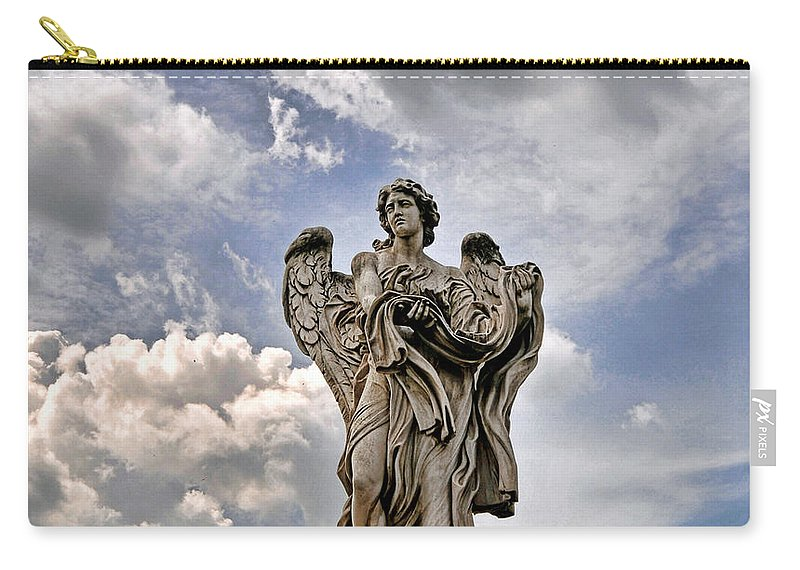 Carry-all Pouch featuring the photograph Angel by Bill Howard