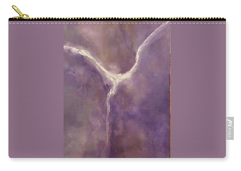 Angel Carry-all Pouch featuring the painting Angel II by Lord Frederick Lyle Morris - Disabled Veteran