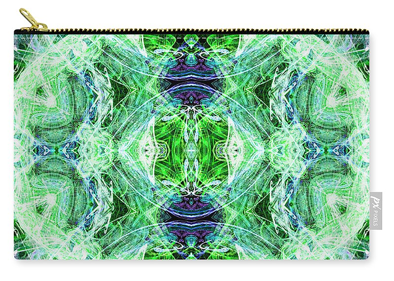Angel Carry-all Pouch featuring the digital art Angel Of The Earth by Diana Haronis