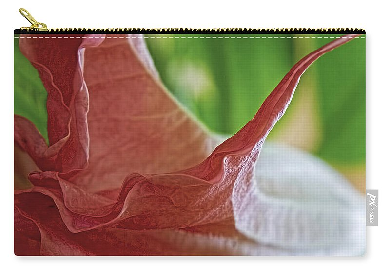 Angel Wing Carry-all Pouch featuring the photograph Angel Wing by Gary Holmes