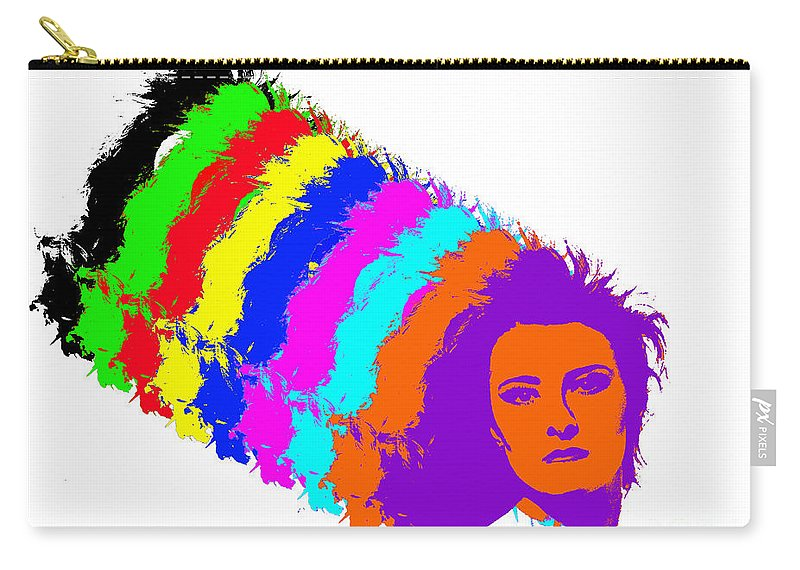Woman Carry-all Pouch featuring the photograph Angela Rainbow-2 by Gary Gingrich Galleries