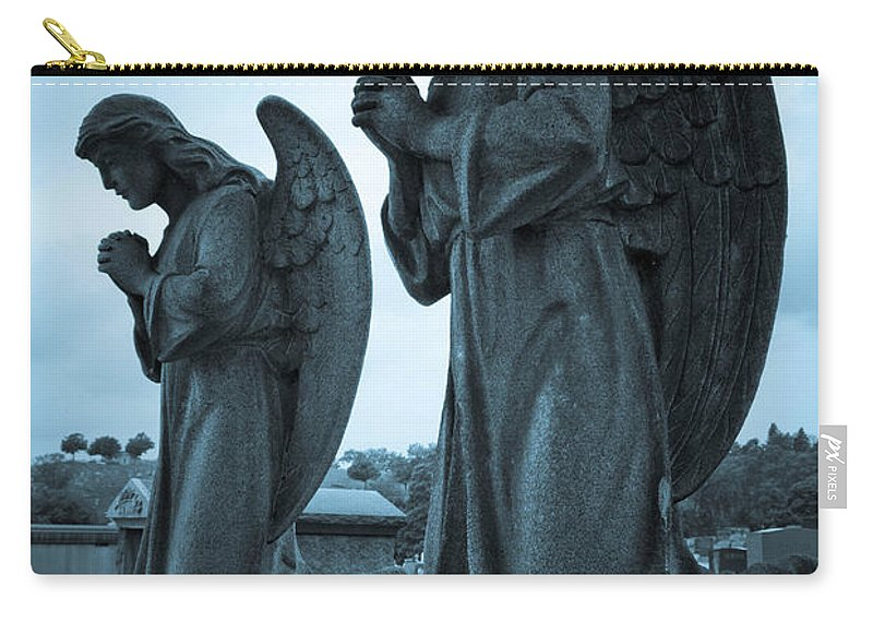 Afterlife Carry-all Pouch featuring the photograph Angels In Prayer by Amy Cicconi