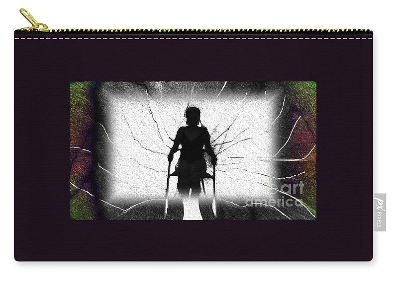 Carry-all Pouch featuring the photograph Animosity by Jessica Shelton