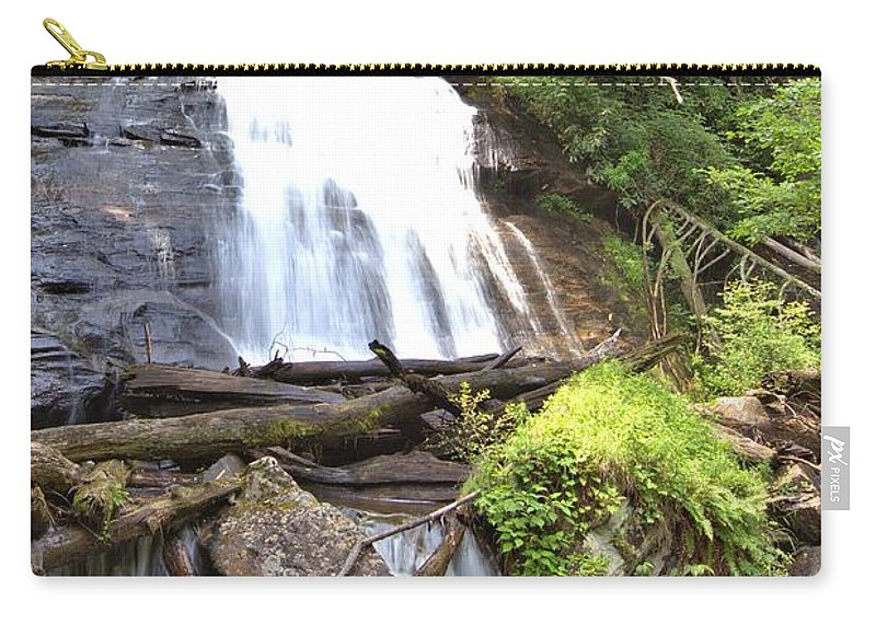 8815 Carry-all Pouch featuring the photograph Anna Ruby Falls - Georgia - 4 by Gordon Elwell