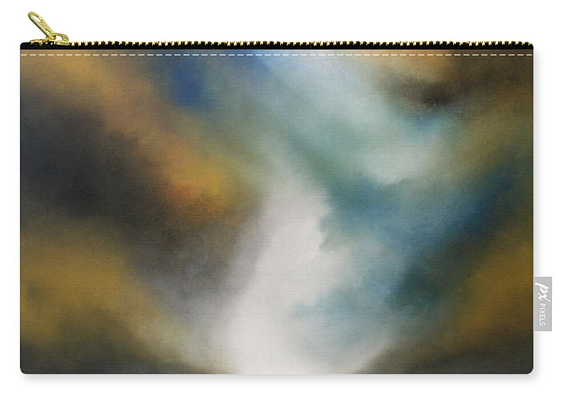 Sea Carry-all Pouch featuring the painting Another Journey by Isabelle Amante