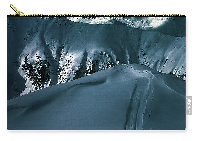 Colette Carry-all Pouch featuring the photograph Another Late Day In The Mountains by Colette V Hera Guggenheim