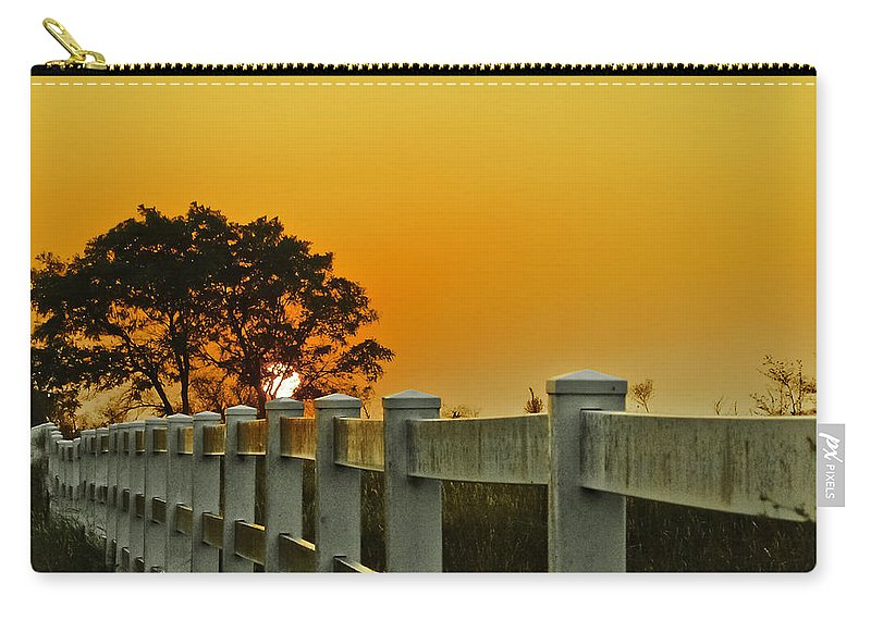 Landscape Carry-all Pouch featuring the photograph Another Tequila Sunrise by Robert Frederick