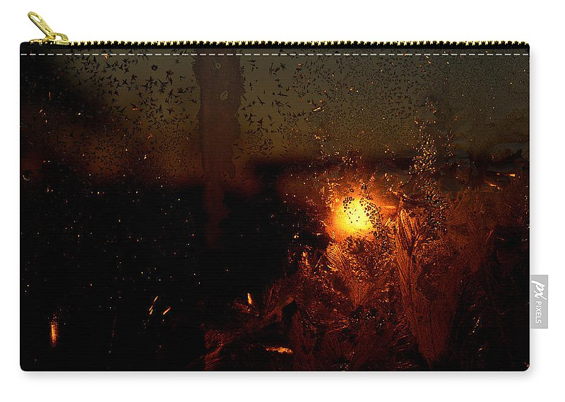 Abstract Carry-all Pouch featuring the photograph Another Time Another Space by Susan Capuano
