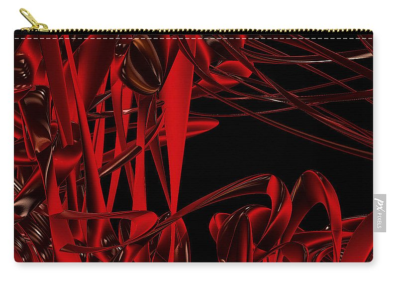 First Star Art Carry-all Pouch featuring the digital art Ant Fest By Jammer by First Star Art