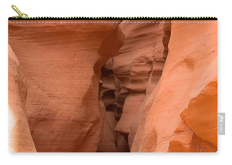 Antelope Canyon Carry-all Pouch featuring the photograph Antelope Canyon 14 by Richard J Cassato
