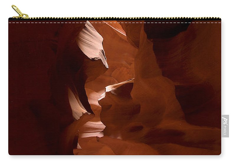 Antelope Canyon Carry-all Pouch featuring the photograph Antelope Canyon 3 by Richard J Cassato