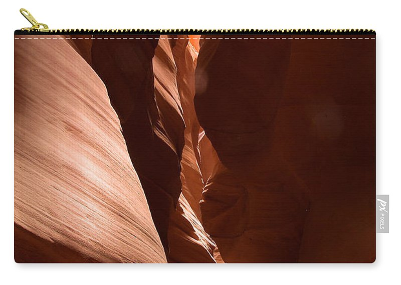 Antelope Canyon Carry-all Pouch featuring the photograph Antelope Canyon 8 by Richard J Cassato