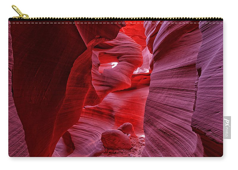 Antelope Canyon Carry-all Pouch featuring the photograph Antelope Canyon Mummy 2 by Jonathan Davison