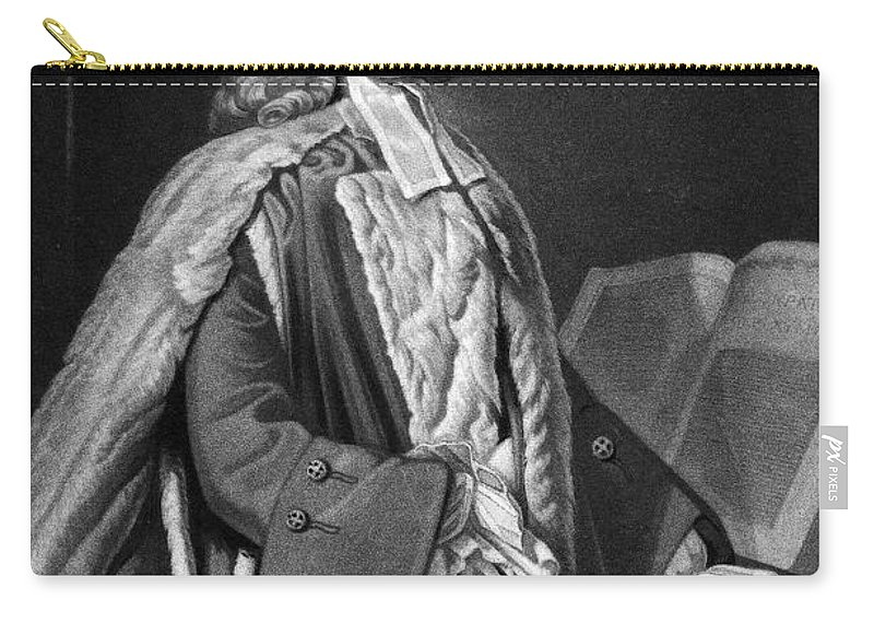 18th Century Carry-all Pouch featuring the photograph Anthony Askew (1722-1774) by Granger