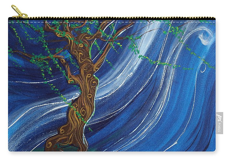 Impressionism Carry-all Pouch featuring the painting Anticipation by Stefan Duncan