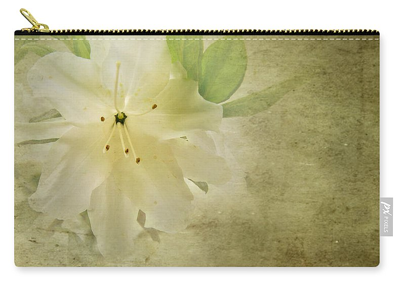 Jemmy Archer Carry-all Pouch featuring the photograph Antique Azalea by Jemmy Archer