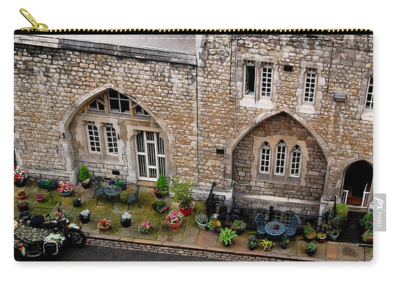 Antique Carry-all Pouch featuring the digital art Antique London by Gina Dsgn