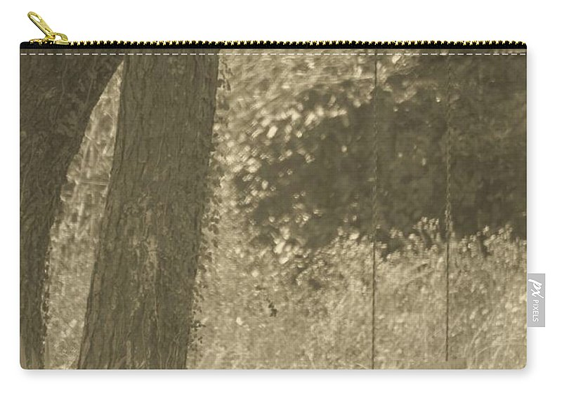Swing Carry-all Pouch featuring the photograph Antique Swing by Michelle Powell