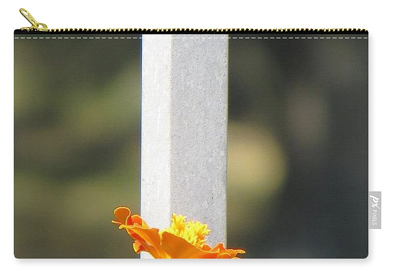 Bird Flowers Carry-all Pouch featuring the photograph Appeal To Birds by Sonali Gangane