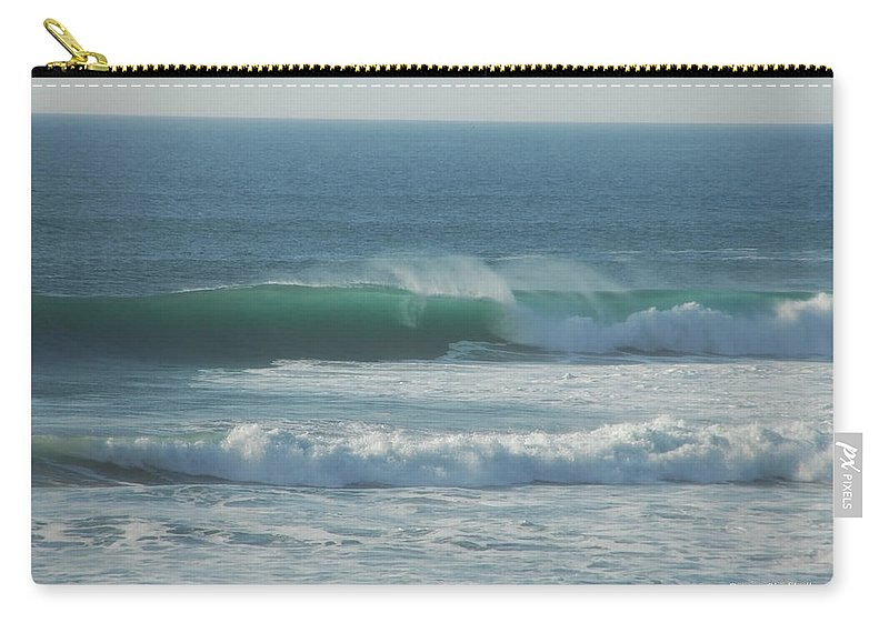 Ocean Carry-all Pouch featuring the photograph Aqua Velvet by Donna Blackhall
