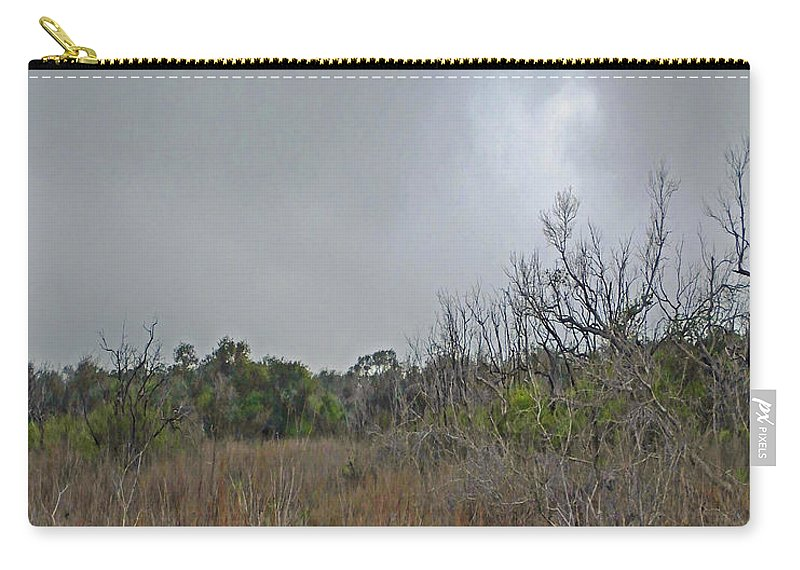 Refuge Carry-all Pouch featuring the photograph Aransas Nwr Texas Coastland by Lizi Beard-Ward