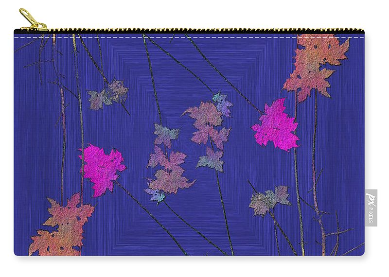 Tree Carry-all Pouch featuring the digital art Arbor Autumn Harmony 9 by Tim Allen