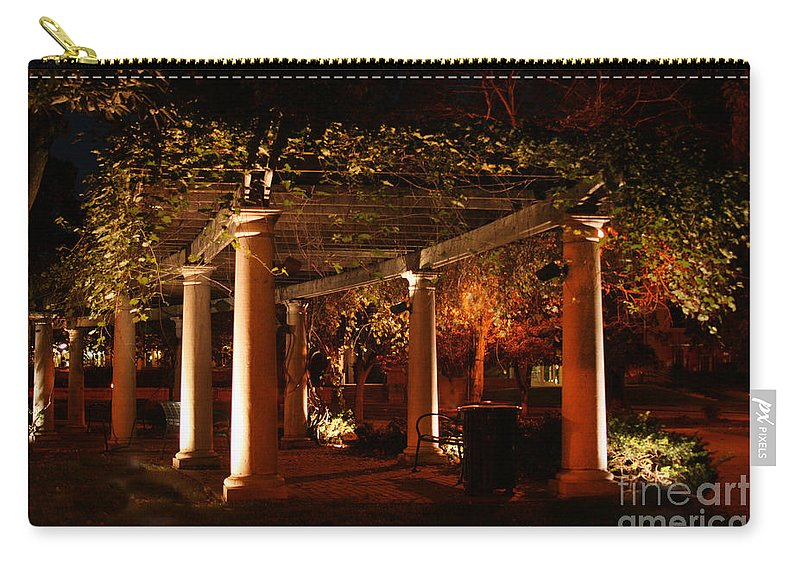 Baker University Carry-all Pouch featuring the photograph Arbor Glow by Crystal Nederman