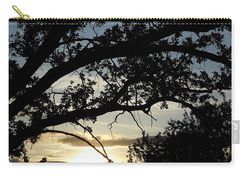 Trees Carry-all Pouch featuring the photograph Arch by Coleen Harty