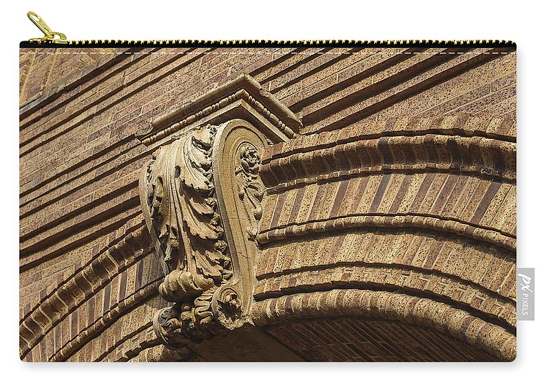 Embellishment Carry-all Pouch featuring the photograph Arch Key by Eric Swan