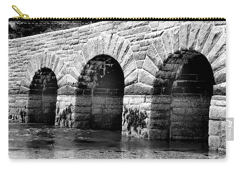 Mountains Carry-all Pouch featuring the photograph Arches by Greg Fortier