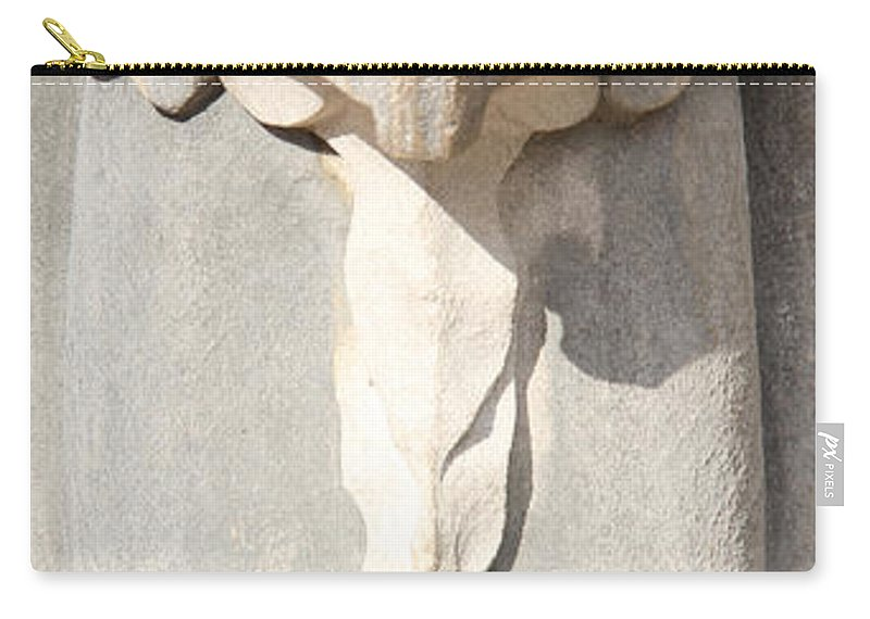 Architecture Carry-all Pouch featuring the photograph Architectural Detail by Adrienne Franklin