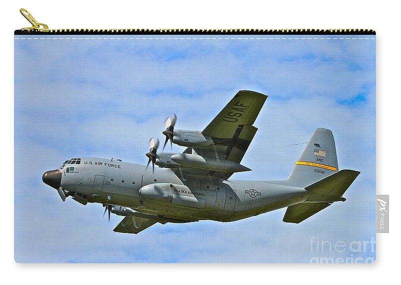 Aircraft Carry-all Pouch featuring the photograph Arctic Flight by Rick Monyahan