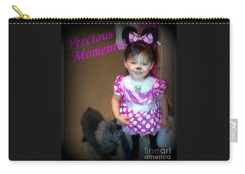 Acrylic Prints Carry-all Pouch featuring the photograph Ari Mouse by Bobbee Rickard