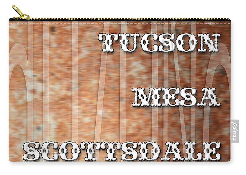 Arizona Carry-all Pouch featuring the digital art Arizona by Marvin Blaine
