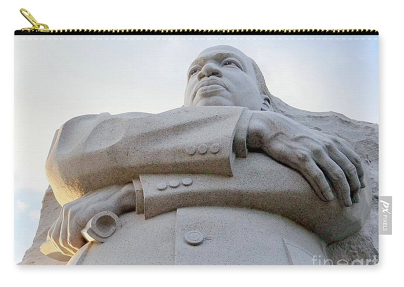 Martin Luther King Jr Carry-all Pouch featuring the photograph Arms Of Justice by Ed Weidman