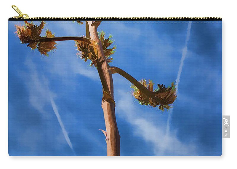 Cactus Carry-all Pouch featuring the photograph Arms Spread Wide by Scott Campbell