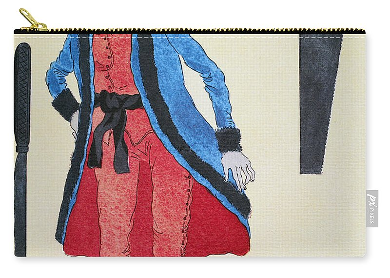 19th Century Carry-all Pouch featuring the photograph Army Surgeon, C1800 by Granger