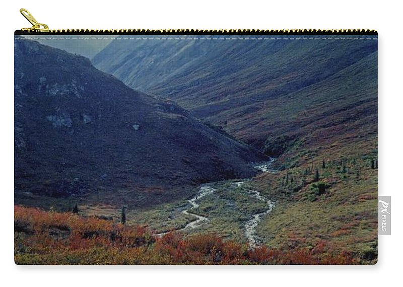 Alaska Carry-all Pouch featuring the photograph Arrigetch 5 by Gary Benson