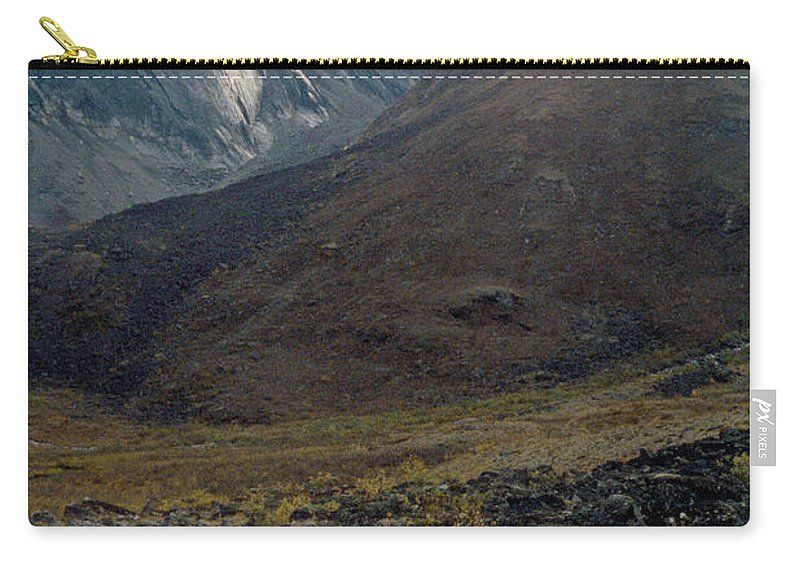 Alaska Carry-all Pouch featuring the photograph Arrigetch 4 by Gary Benson