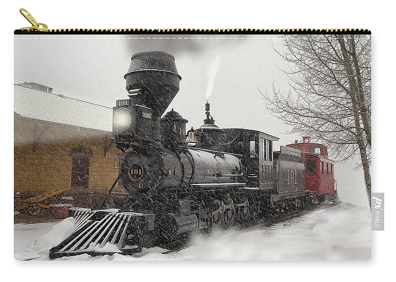 Dsp&p Carry-all Pouch featuring the photograph Arriving by Ken Smith