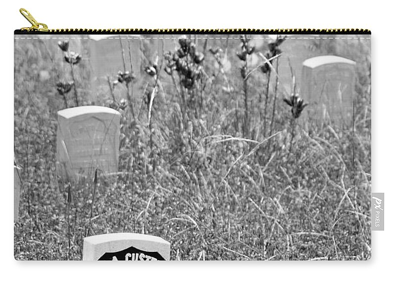 Custer Carry-all Pouch featuring the photograph Arrogance by Dan Wells