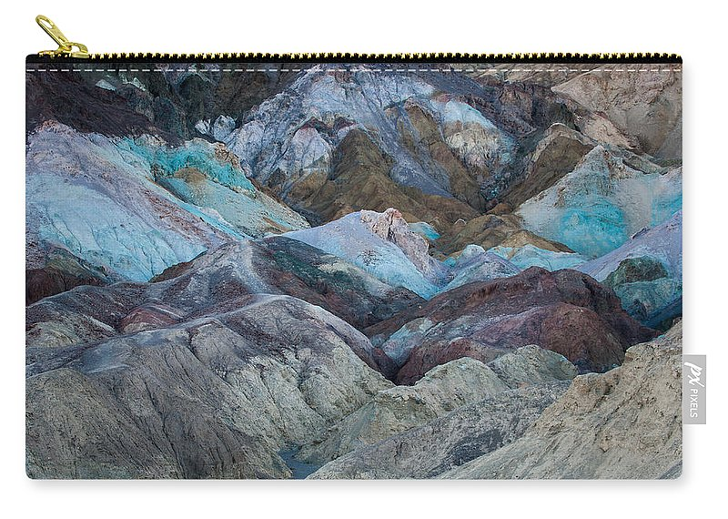 Artists Palette Carry-all Pouch featuring the photograph Artist's Palette by George Buxbaum