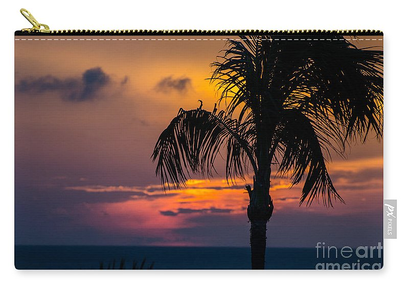 Aruba Carry-all Pouch featuring the photograph Arubian Nights by Judy Wolinsky