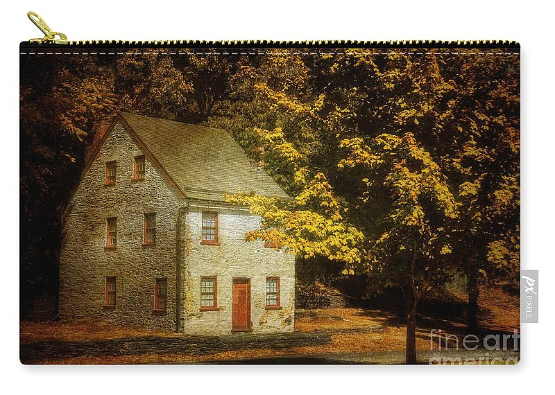 House Carry-all Pouch featuring the photograph As The World Passes By by Lois Bryan