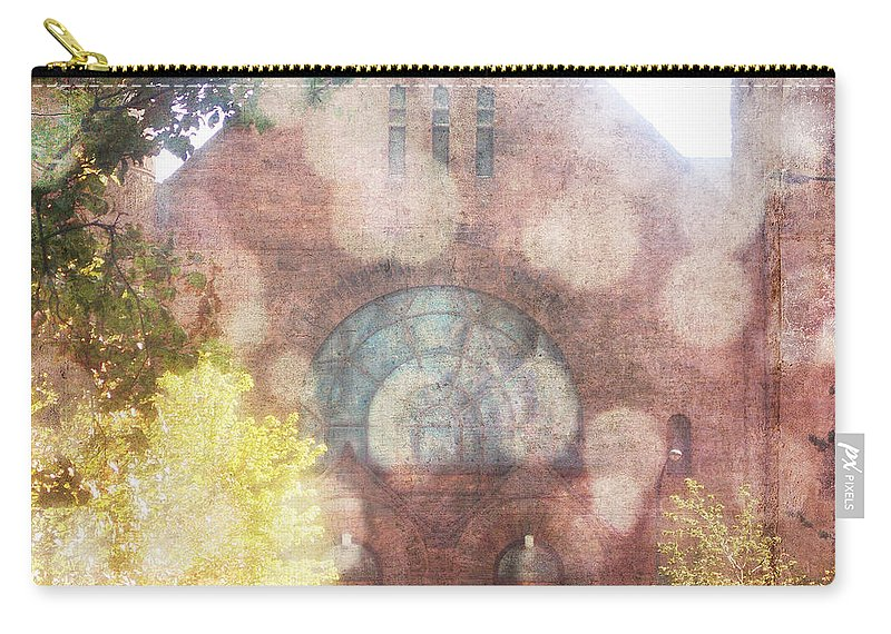 Wright Carry-all Pouch featuring the photograph Ascending Angels by Paulette B Wright