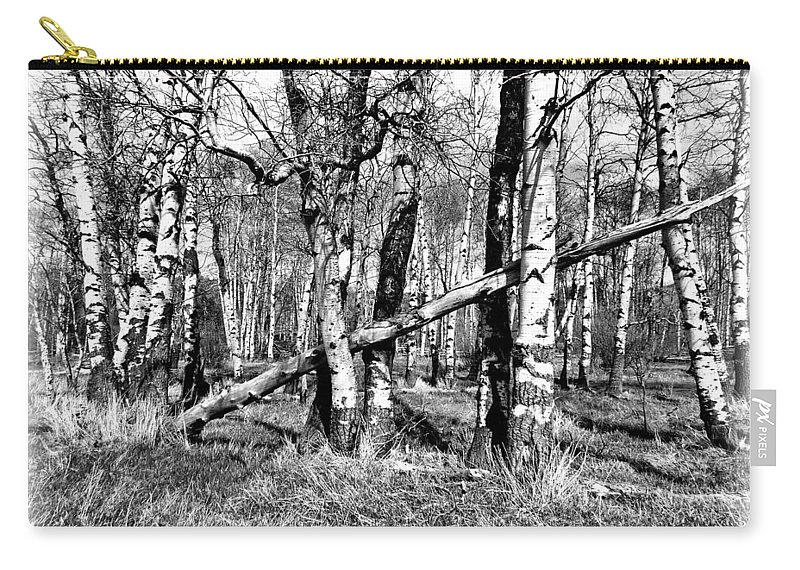Photo Carry-all Pouch featuring the photograph Aspens by Susan Kinney