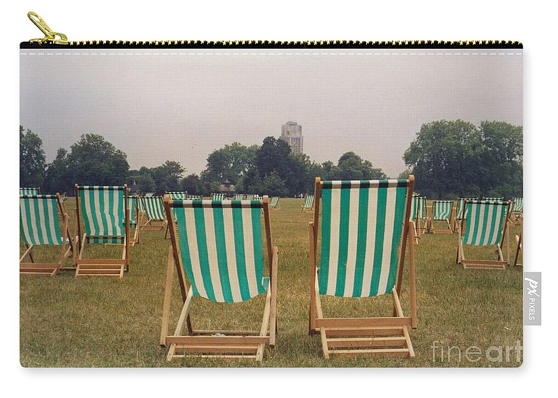 Hyde Park Carry-all Pouch featuring the photograph Assemblage by Christine Jepsen