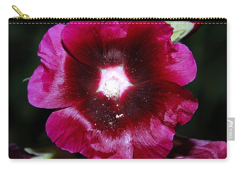 Purple Carry-all Pouch featuring the photograph Assorted Flower 004 by Larry Ward