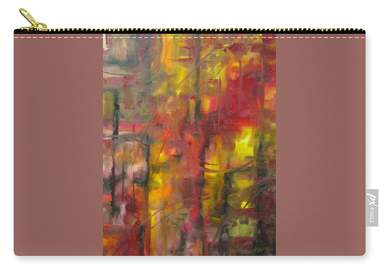 Asylum Carry-all Pouch featuring the painting Asylum by Lord Frederick Lyle Morris - Disabled Veteran